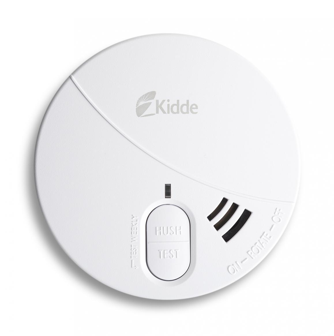 Kidde Rauchmelder 29HD.2 inkl. 9V-Alkaline-Batterie zertifiziert nach EN 14604