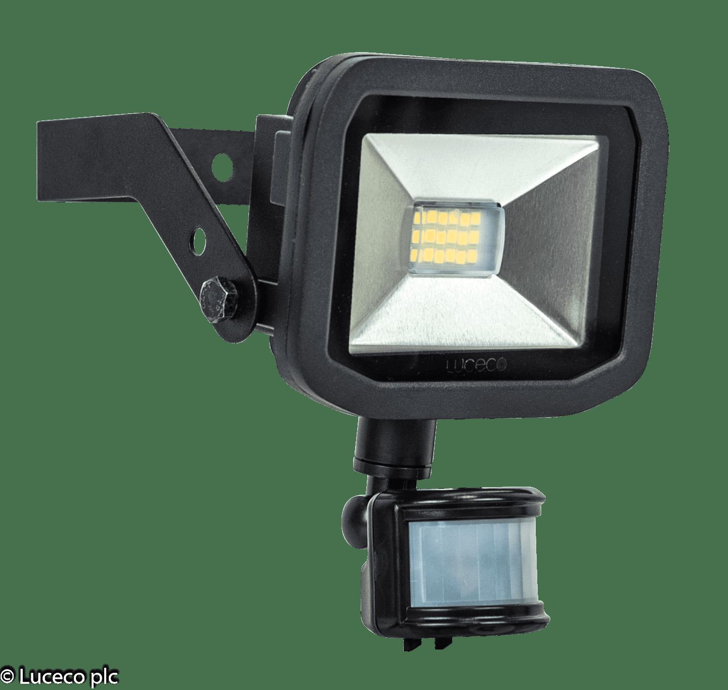 Luceco LED-Fluter mit Bewegungsmelder 180° 15W 3000K 1200 Lumen
