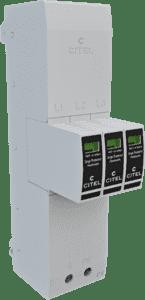 Citel Kombi-Ableiter TYP 1+2+3 für Sammelschienensysteme 40mm #ZPAC1-13VG-31-275