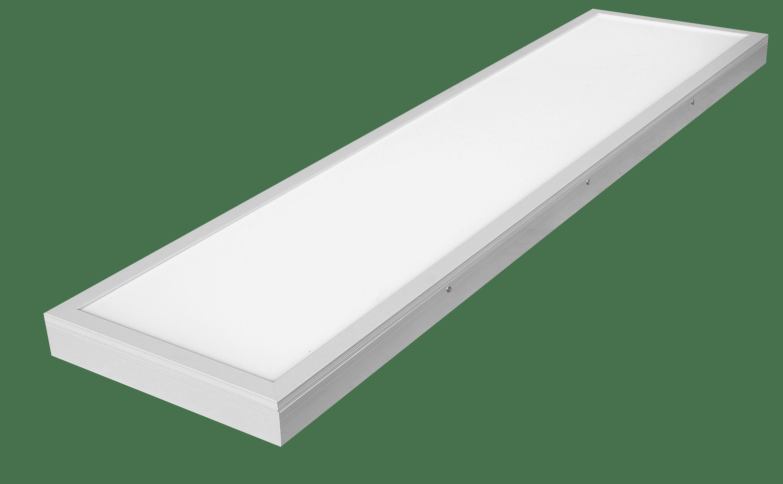 M-Light LED Deckananbau Panel UGR>19 1500x300x34mm 40W 4000K 4900lm weiß 81-2098