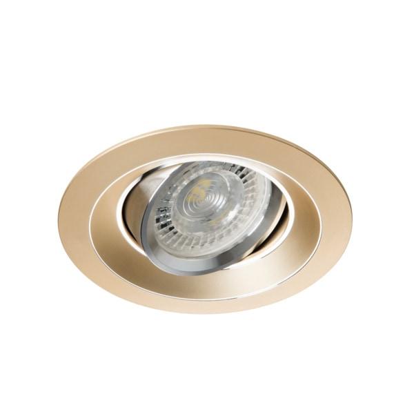 Kanlux Einbaustrahler 75er Farbe Gold COLIE DTO-G 26741