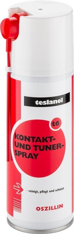 Teslanol  Kontakt- und Konservierungsspray zur präzisen Reinigung und Pflege von Kontakten - 200 ml