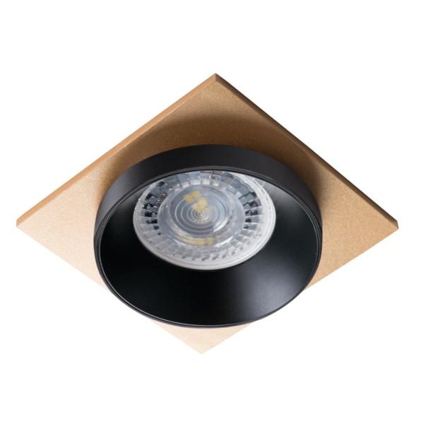 Kanlux Einbaustrahler 92x92 SIMEN DSL SIMEN DSL B/B/G