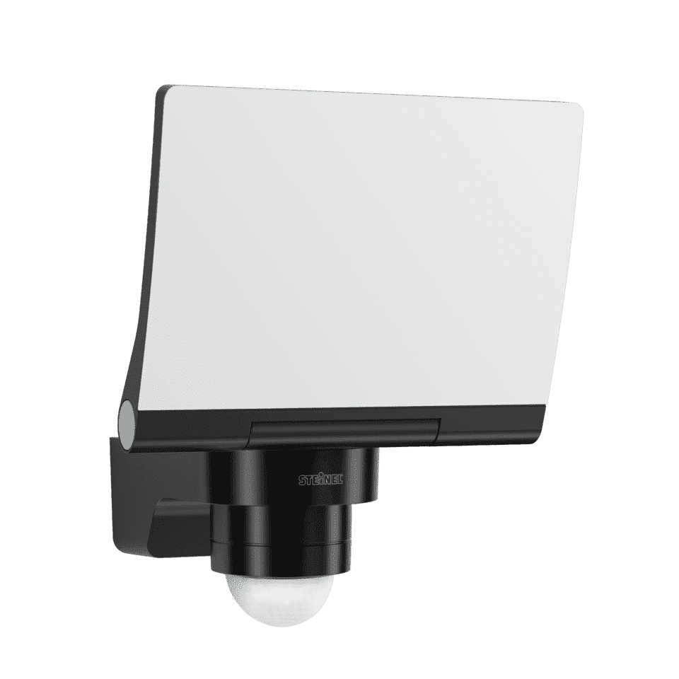 STEINEL Sensor-LED-Strahler 3000K 240° sw ca.12m XLED PRO 240 SW