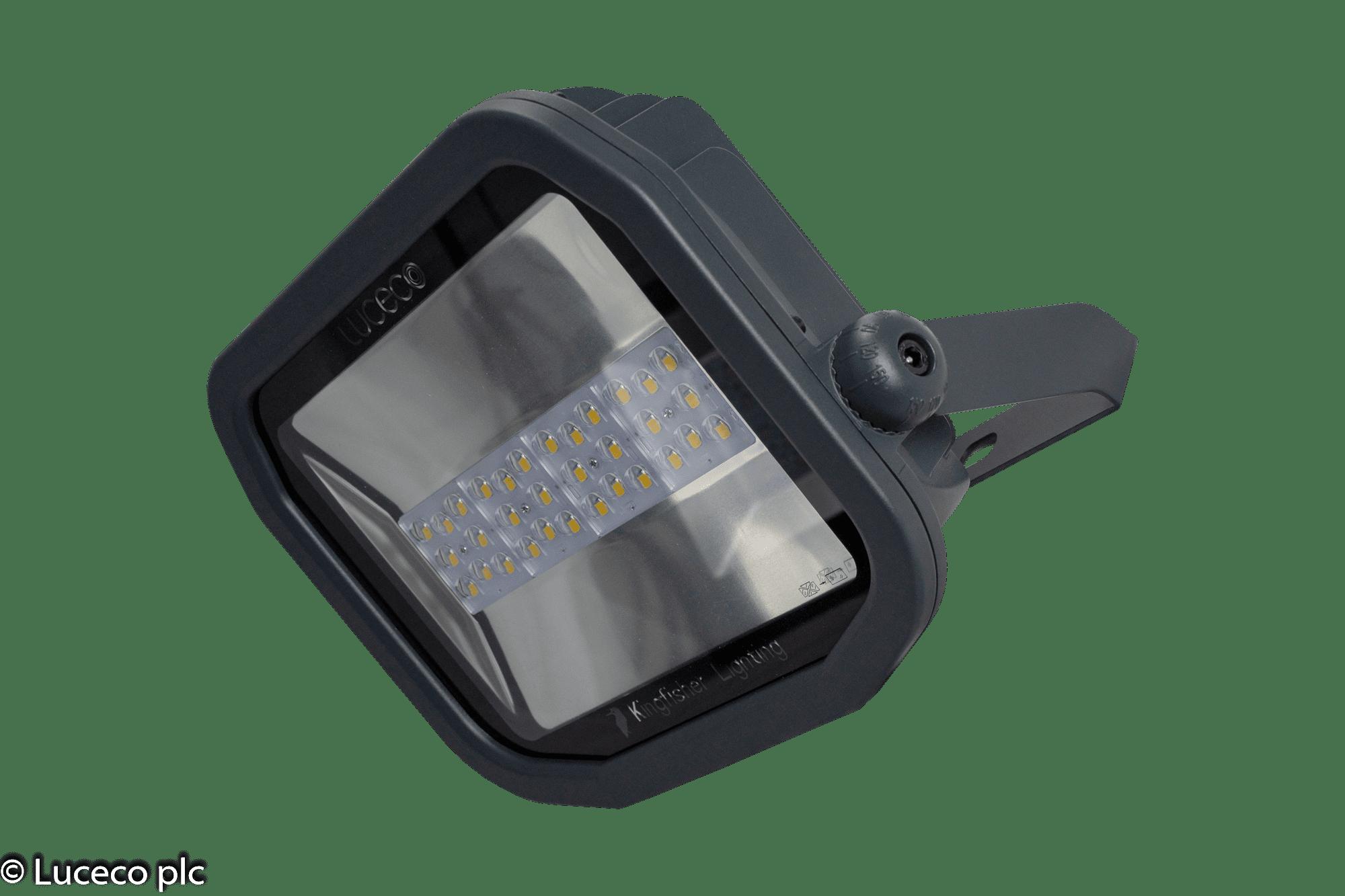 Luceco Profi LED-Fluter 100W 4000K 11.500Lm IP65 120° #LFP100B140F