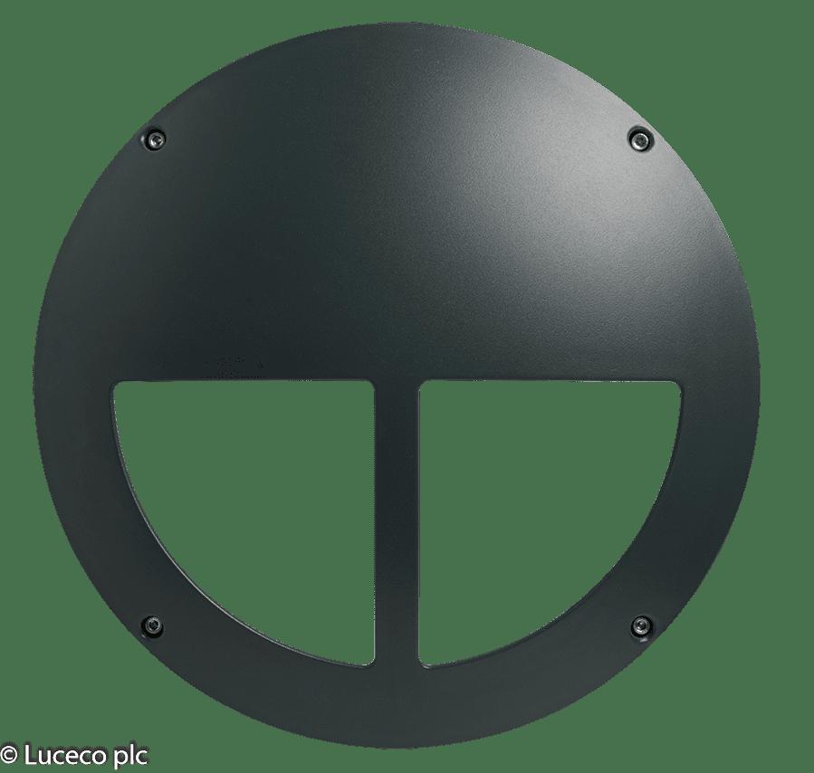 "Luceco Dekorative IP65-Aluminium Druckguss-Gehäuse für Leuchte ""Atlas"" LBH154AMS"
