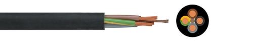 H07RN-F 3x1,5 Schwere Gummileitung  RG100m