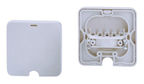Bachmann Geräteanschlußdose UP 16A/380V weiß (0,75-2,50mm) 190.271