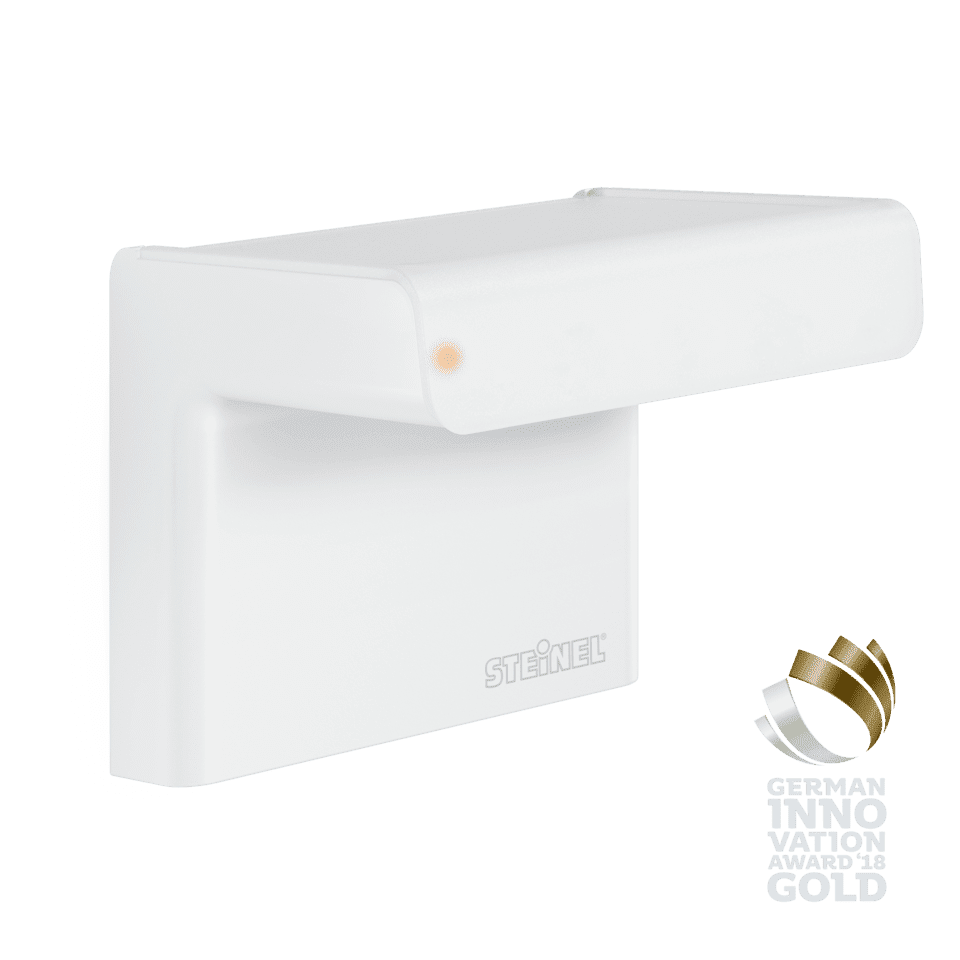 Steinel Bewegungsmelder - Professional Line iHF 3D weiß ( Intelligente Hochfrequenz-Technik)