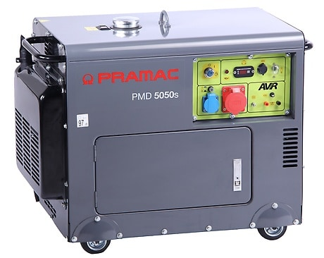 Pramac Notstromaggregat Home 4000 Watt PMD5050S mit automatischer Spannungsregelung AVR-Technology