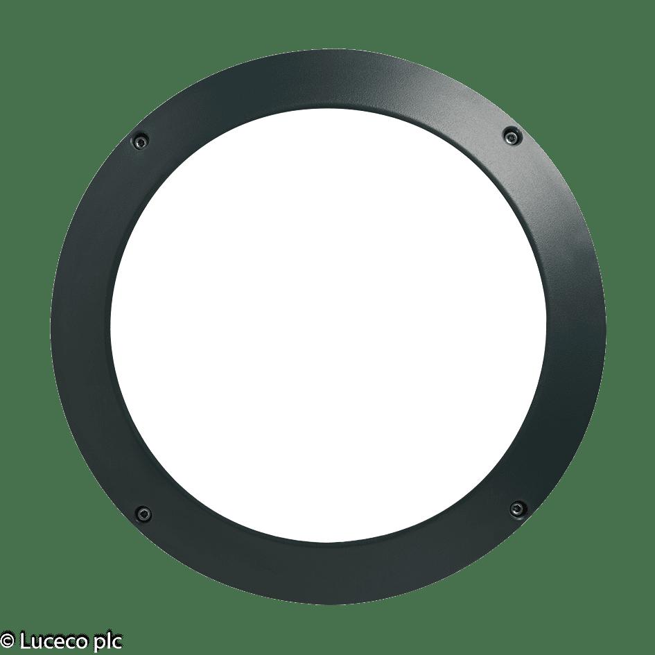 "Luceco Dekorative IP65-Aluminium Druckguss-Gehäuse für Leuchte ""Atlas"" LBH154AMP"
