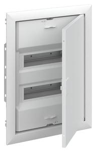 Striebel & John UK624N3 Stromkreisverteiler Unterputz 24 PLE mit Tür und Blendrahmen