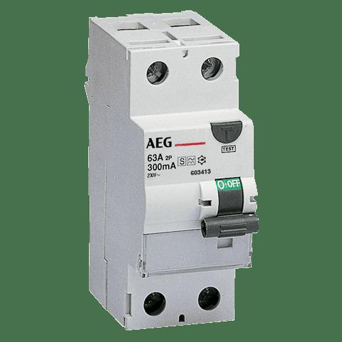 AEG FP A 2 25/030 - FI-Schalter 2P Typ A 25A, 30mA, 2TE 4TQA603338R0000