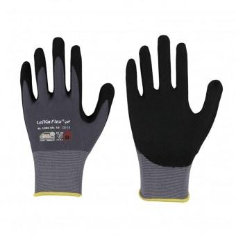 Leipold LeiKaFLeipold lex® STAR • Feinstrick-Handschuh GR10 mit Nitril-Beschichtung • Handrücken offen 1486