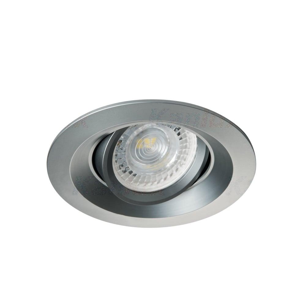 Kanlux Einbaustrahler 75er Farbe grau COLIE DTO-G 26744