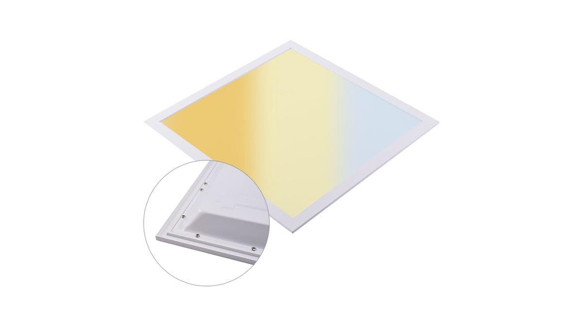 Rolux LED Panel 62x62x32 40W 3900-4000lm 3000K/4000K/6000K UGR19 ws 0190620401