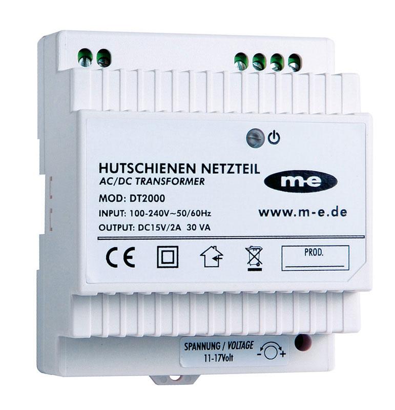 M-E Elektronisches Hutschienen Netzteil DT-2000