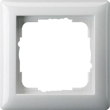 Gira 1F-Abdeckrahmen 021103 Standard 55 Reinweiß glänzend