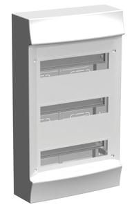 Striebel & John M41W336N3 Stromkreisverteiler Aufputz 3x12 PLE ohne Tür
