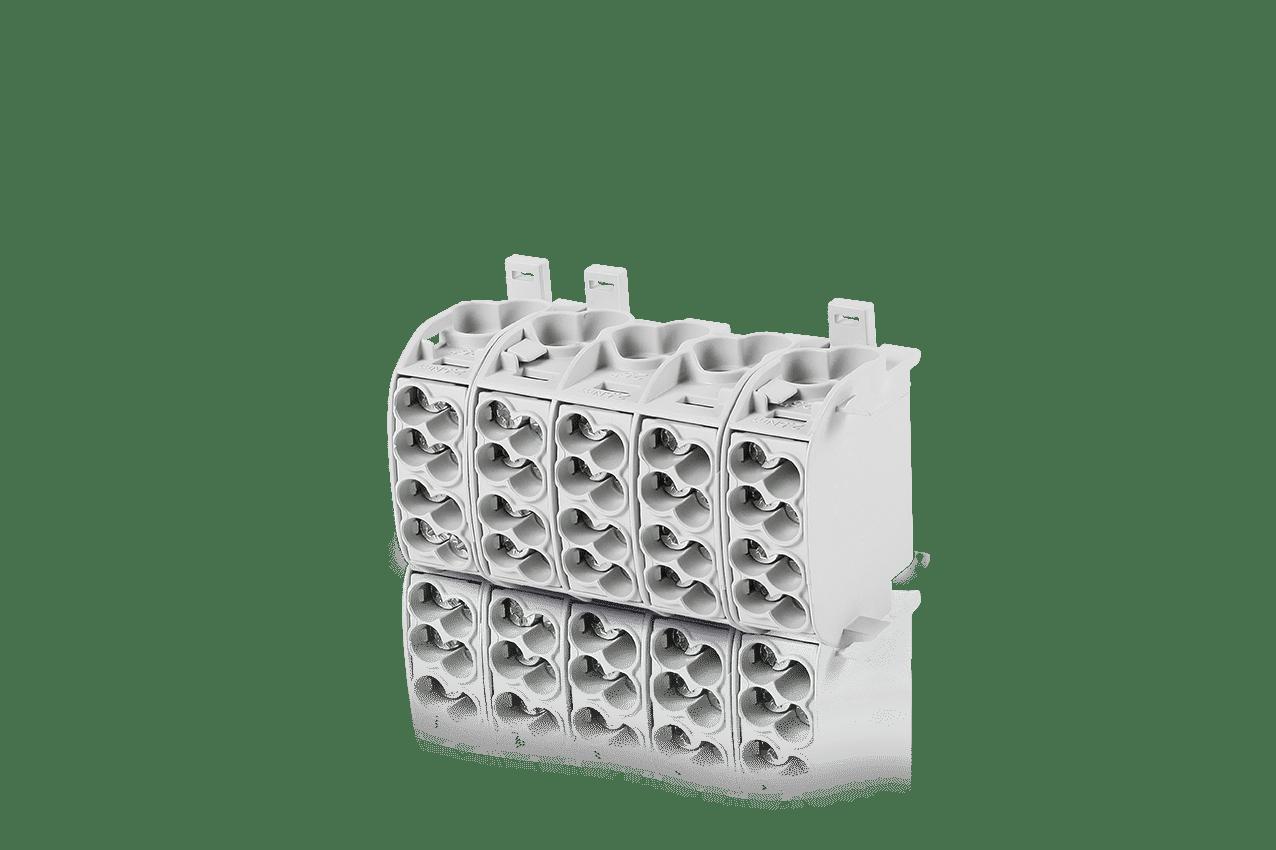 F-tronic Hauptleitungsabzweigklemme 5P 25mm² (Typ C)  HLAK2p25gr