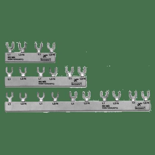 AEG BA-G 3/12/10 - Gabel Phasenschiene 3P, 10mm2, 12 Kontakte