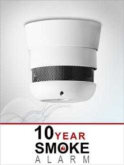 """CAVIUS Rauchmelder 2007 (VdS) Invisible integr.10-Jahres-Batterie """"Q-Label""""  1471200"""