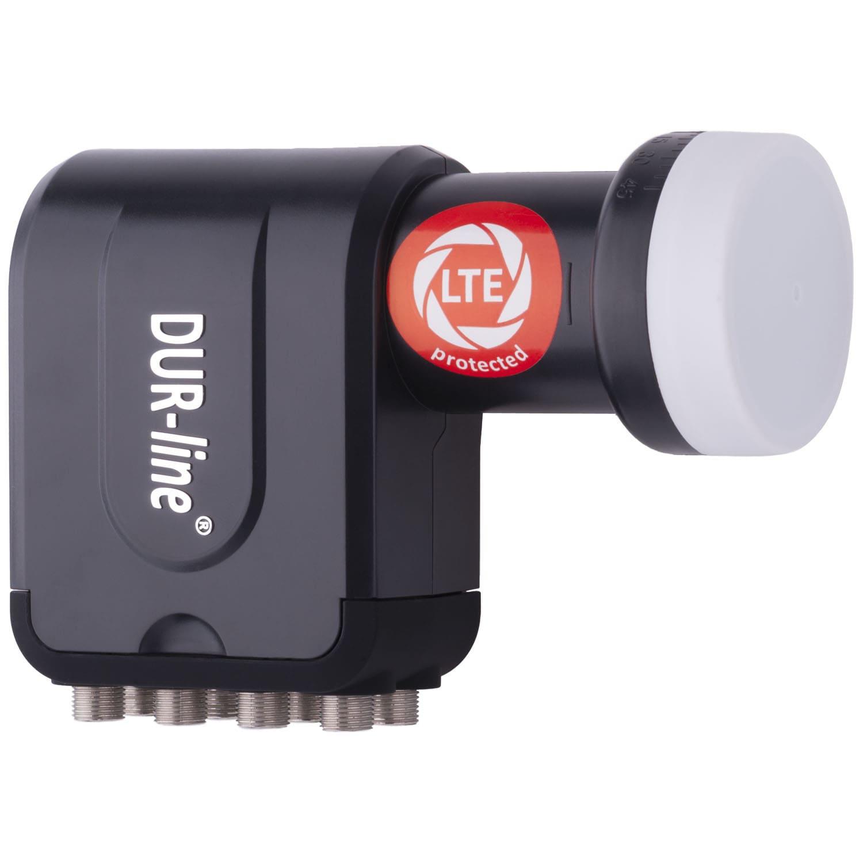 DuraSat DUR-line +Ultra Octo - LNB Für 8 Teilnehmer - Mit integrierten LTE- und DECT-Filtern gegen Störfrequenzenn
