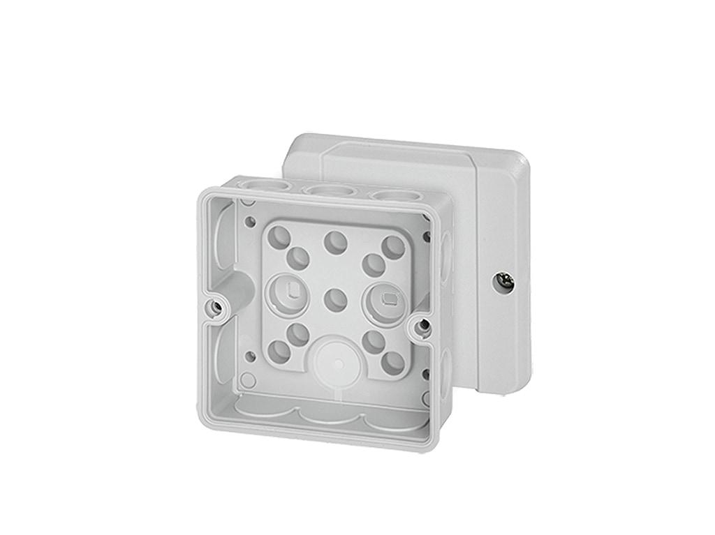 Hensel Abzweigdose DE 9320 88x88x50 IP55 mit Dichtmembranen max 2,5mm²