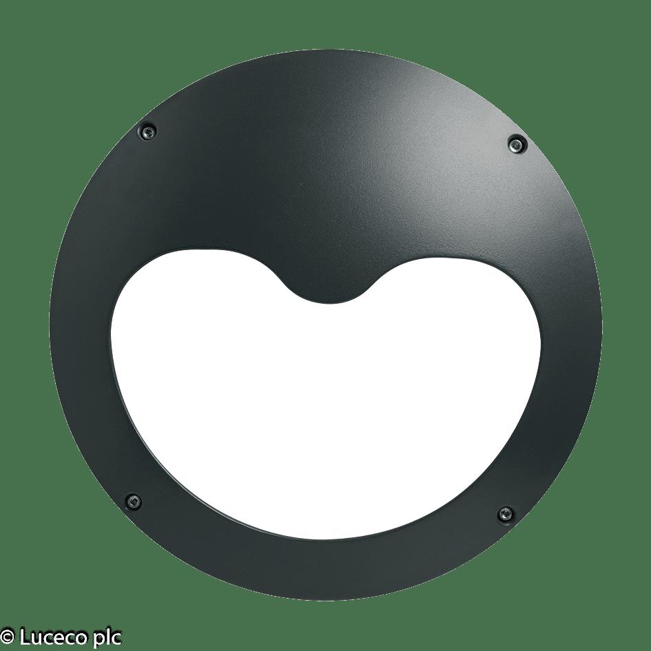 "Luceco Dekorative IP65-Aluminium Druckguss-Gehäuse für Leuchte ""Atlas"" LBH154AME"