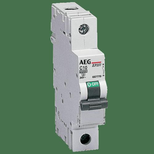 AEG EP61 B16 - LS-Schalter 6kA 1P 16A, B-Charakteristik 4TQA667131R0000