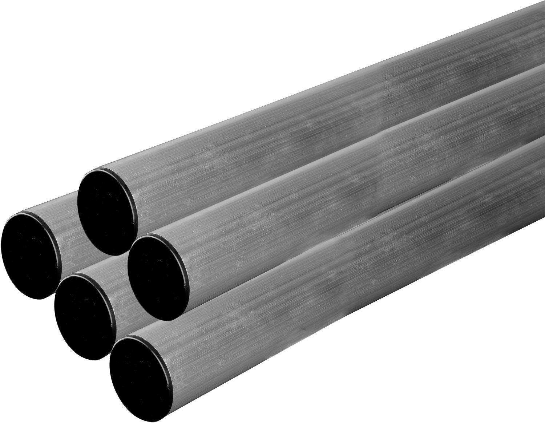 DuraSat ALU-Mast mit Mastkappe ø50mm in 2m Länge