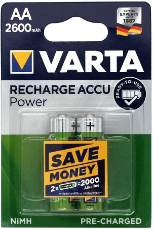 VARTA Accu Ready2Use AA 2600mAh Bister 2 5716